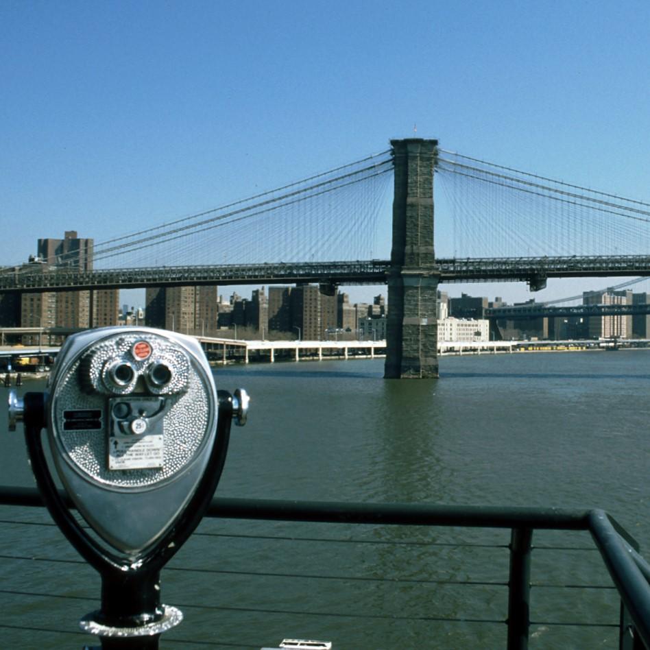 New York 1997 Brooklyn Bridge